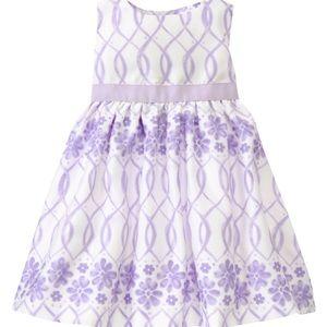 Gymboree Easter / Spring Lavender Lovely dress